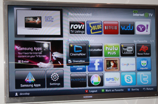 Samsung Really, Really Wants To Sell Web-connected TVs