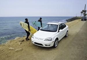 coda sedan surfers