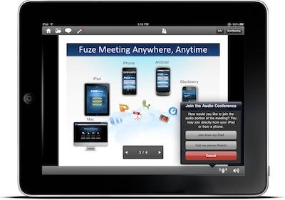 fuze meeting ipad