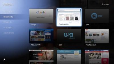 Google TV Screenshot