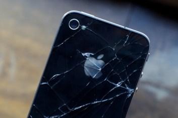Cracked iPhone 4