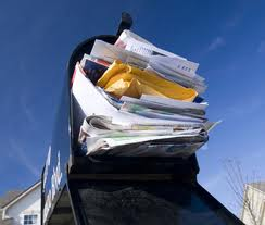overstuffed mailbox