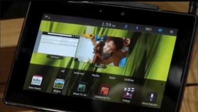 BlackBerry PlayBook demo