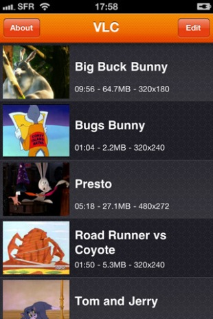VLC Media Player for iPhone