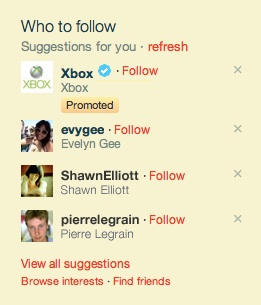 xbox twitter promoted account