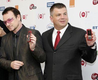 Bono and Ron Garriques