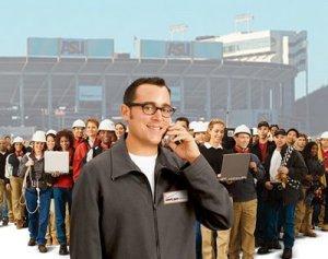 Verizon crowd