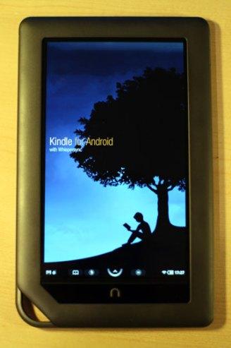 kindle app on nook color