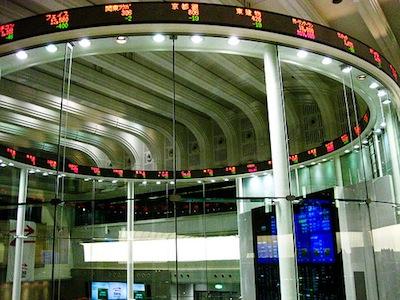 market trading floor