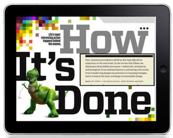 Wired iPad
