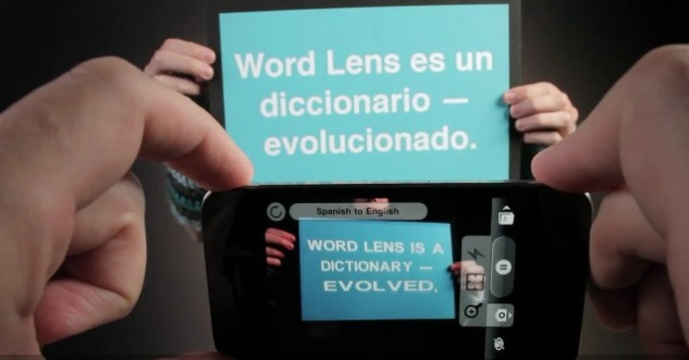Word Lens iPhone app
