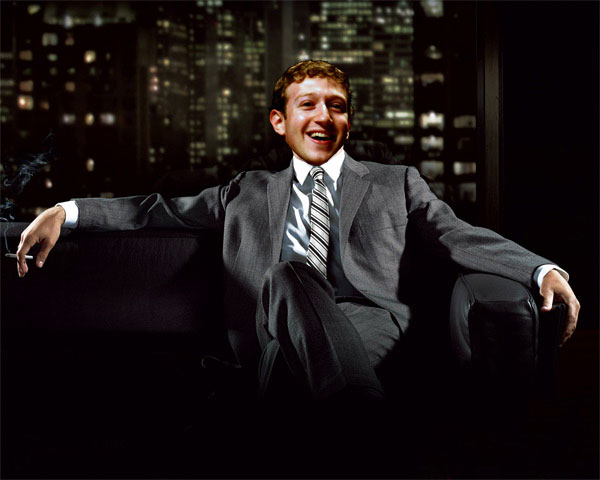 Mark Zuckerberg, ad man?