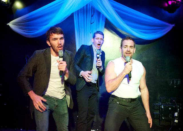 VentureBeat's Matt Lynley, Matt Marshall, and Owen Thomas at DEMO Spring 2011