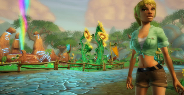 Sony Launches Free-to-play Online World Free Realms On