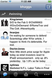 twitter old quickbar