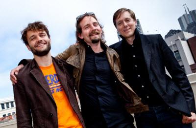 Unity's founders: Joachim Ante, Nicholas Francis, and David Helgason