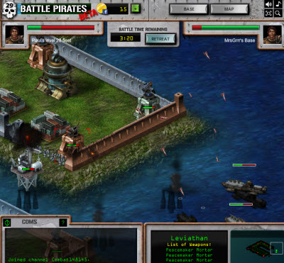 Kixeye Re Brands And Pivots Into Hardcore Social Games With Battle Pirates Venturebeat Mostly incremental improvements on current. games with battle pirates