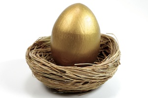 Twitter Golden Egg