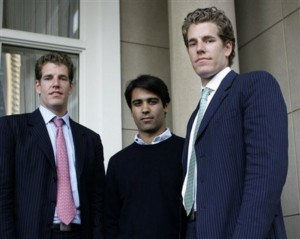 How much did the winklevoss twins get from facebook ipo