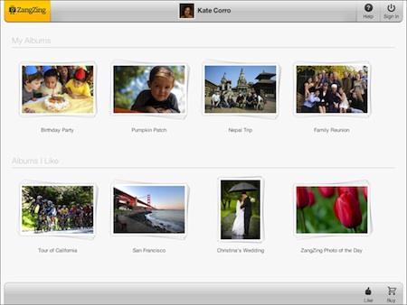 ZangZing Home Page