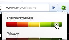 WOT trustworthiness index