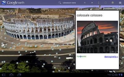 google earth colosseum