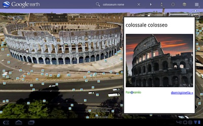 google earth colosseum