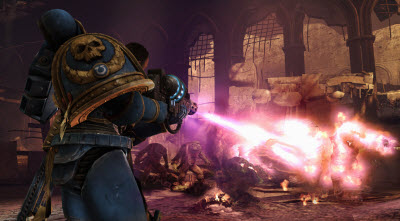 Updated: How many ways can THQ's Space Marine game rip off