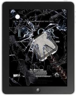 Thor - Broken glass iPad