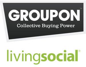 Groupon, LivingSocial