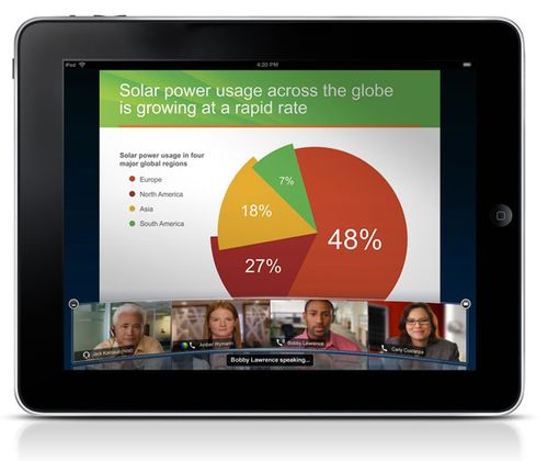 WebEx for iPad aims to support the mobile workplace ...