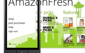 AmazonFresh Windows Phone