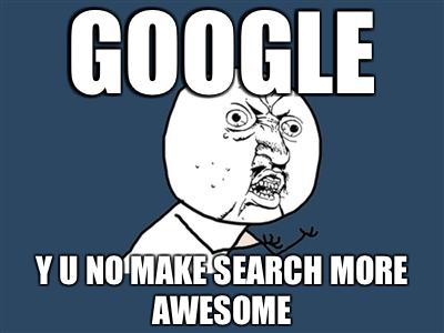 google y u no