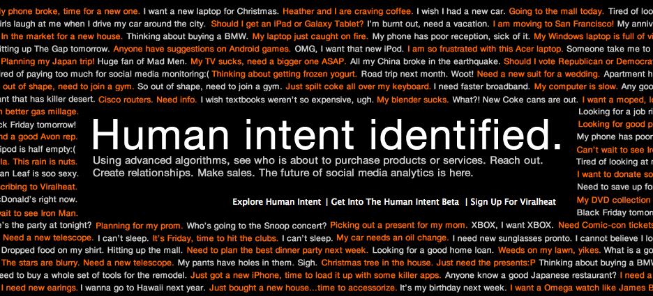 Human Intent
