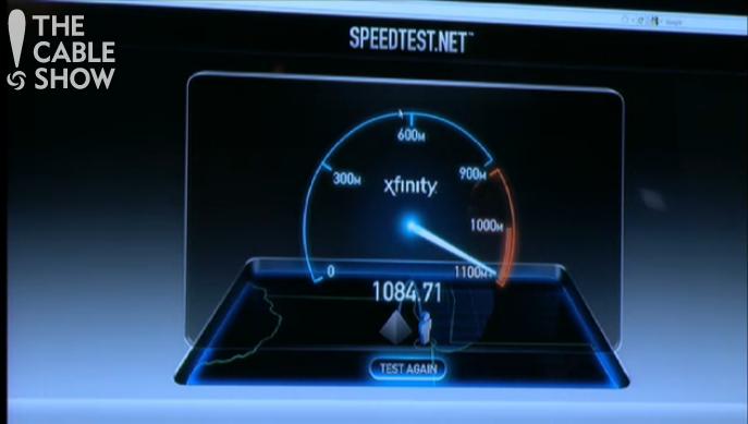 Actually Comcastic Comcast Shows Off Gigabit Broadband