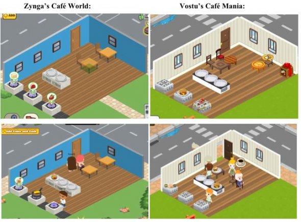 Cafe World and Cafe Mania