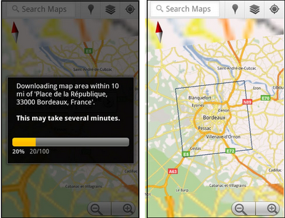 The end of paper maps: Google Maps goes offline for Android ... Download Android Google Maps on