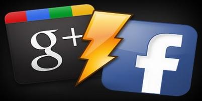 Google-plus vs Facebook