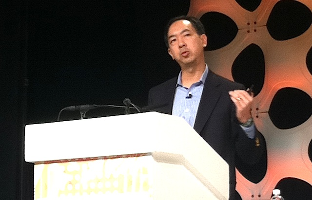 Verizon Wireless executive vice president Humphrey Chen