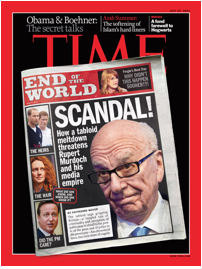 Murdock on Time Magazine