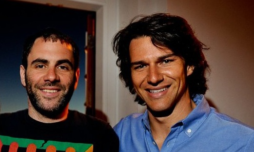 Percolate founders Noah Brier and James Gross