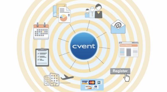 Cvent events management