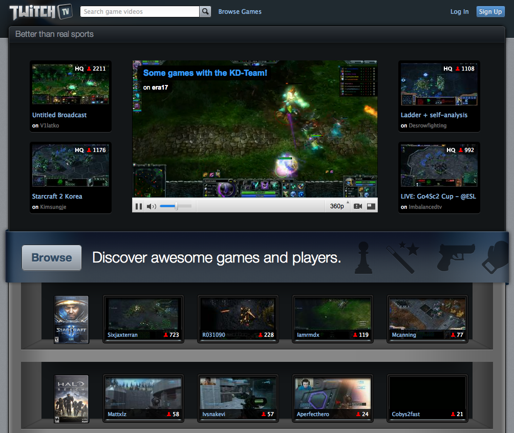 Twitch tv hits 8M viewers, partners with Blizzard's largest