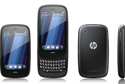 Stock photo showing the HP Pre 3 front and back