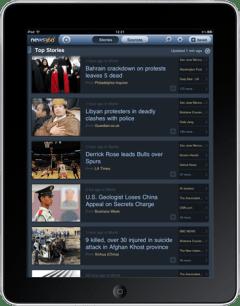 News360 iPad