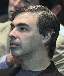 photo of Google CEO Larry Page by Jakub Masur