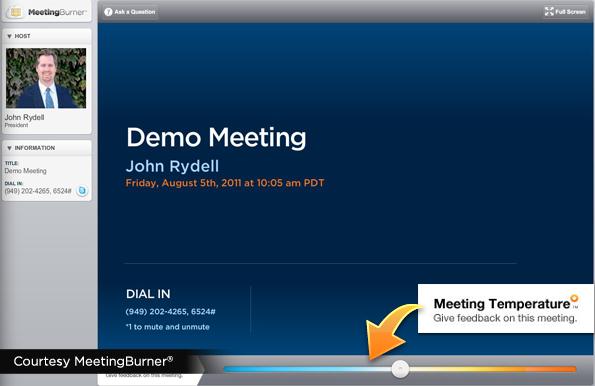 MeetingBurner-In-Meeting