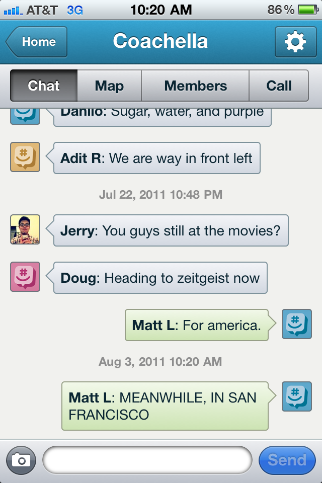 Groupme chat rooms
