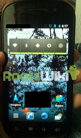 Android Ice Cream Sandwich Leak