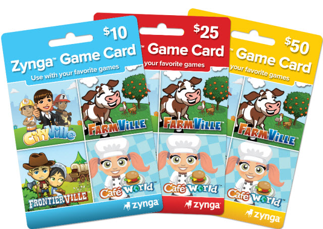 zynga card